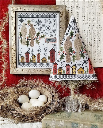 Second Day of Christmas Sampler & Tree by Hello from Liz Mathews