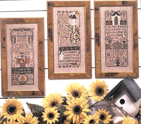 *Garden Samplers by The Prairie Schooler