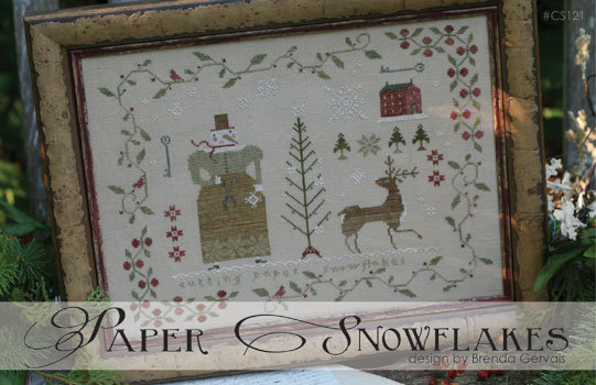 Paper Snowflakes by With Thy Needle & Thread
