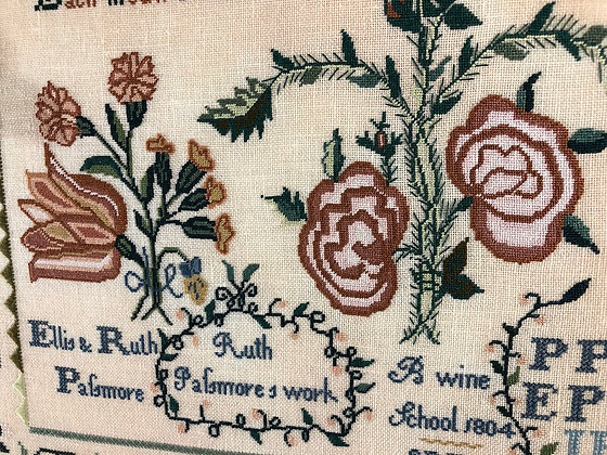 Ruth Passmore by Queenstown Sampler Designs