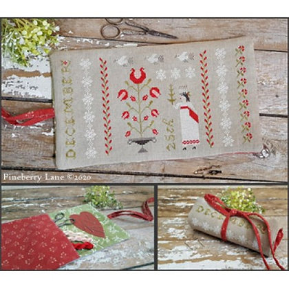 Christmastime Sewing Roll by Pineberry Lane
