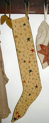 Primitive Stocking by Carriage House Samplings