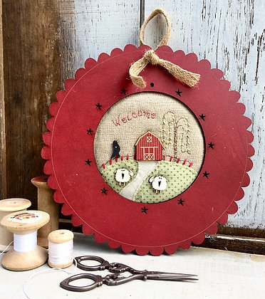 Welcome Countryside Barn kit by The Bee Company KTB79A