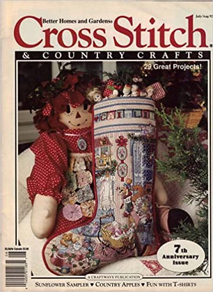 CATS Cross Stitch & Country Crafts July/August 1986