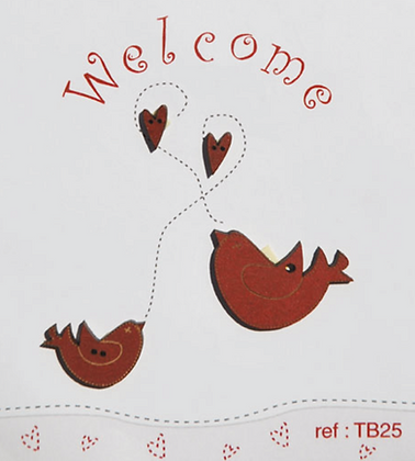 Birds & Little Hearts by The Bee Company TB25