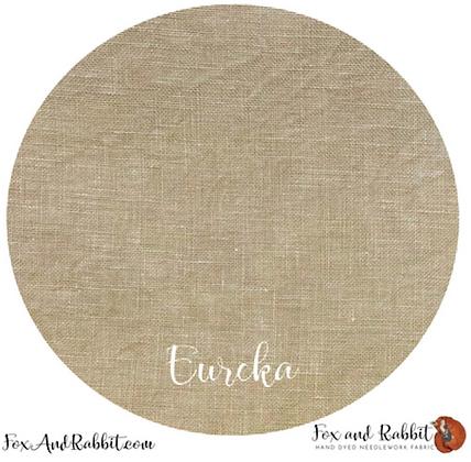 36 Count Eureka Linen Fat Quarter Cut by Fox & Rabbit Designs