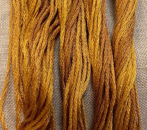 Sassy Brass Classic Colorworks Cotton Threads 5-yard Skein