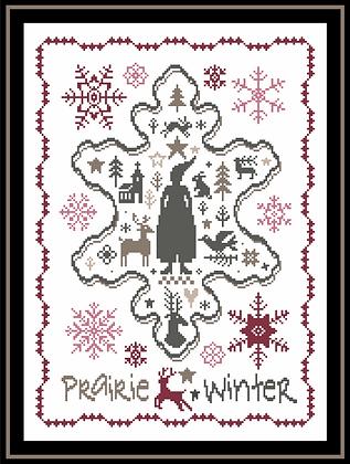 Prairie Winter II by Marjorie Massey PR25
