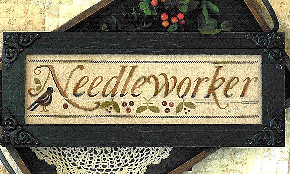 Needleworker (with threads) by Little House Needleworks