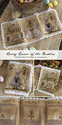 NASH-STASH Spring Queen of the Needles by The Primitive Hare