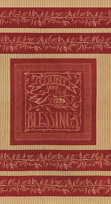 Count Your Blessings RED by Kathy Schmitz for Moda