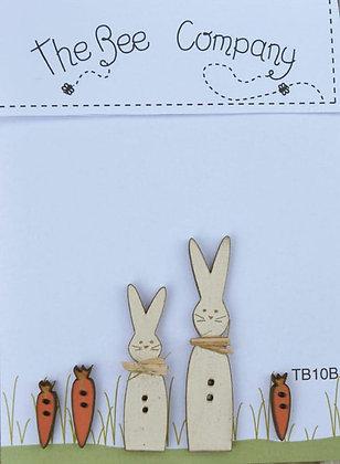 Rabbits & Carrots by The Bee Company TB10B