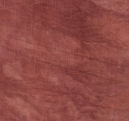 36 Count Dried Prom Rose Fat Quarter Hand-Dyed Linen by Dames of the Nee