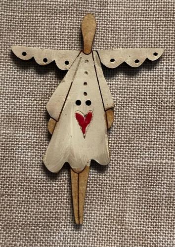 Primitive Angel By Theodora Cleave Kittenstitcher