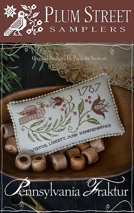 *Pennsylvania Fraktur by Plum Street Samplers