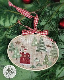 Santa's Tree Farm by With Thy Needle & Thread