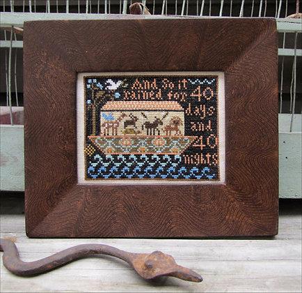 Sunday Samplings: Noah's Ark by Kathy Barrick