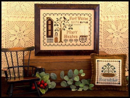 CATS Dear Diary: Mary Heaton by Little House Needleworks
