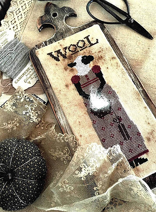 *Miss Mary Margaret Wool by The Primitive Hare