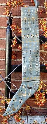Pennsylvania-German Stocking by Carriage House Samplings