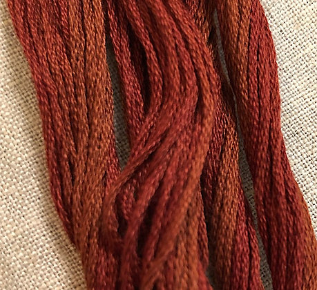 Cayenne Classic Colorworks Cotton Threads 5-yard Skein