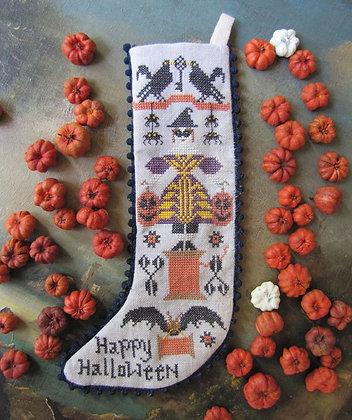 *Halloween Stocking by Kathy Barrick