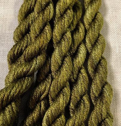Sassy Green Gloriana 12-Strand Silk 6 Yards