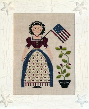 My Lady Liberty by Little House Needleworks