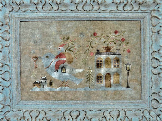 Santa, the Dove, and the Key by Barbara Ana Designs