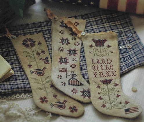 Betsy's Stockings by Plum Street Samplers