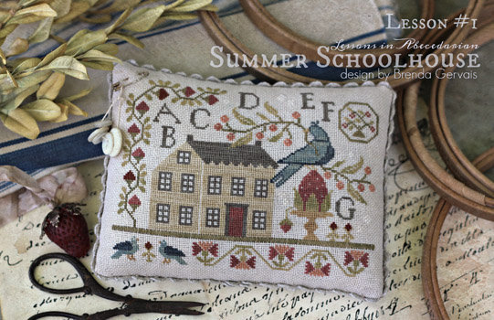 Summer Schoolhouse Lesson One by With Thy Needle & Thread