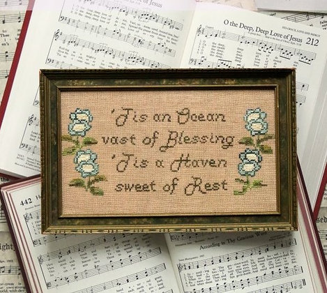 Sunday Stitches: Oh the Deep Deep Love of Jesus by Heartstring Samplery