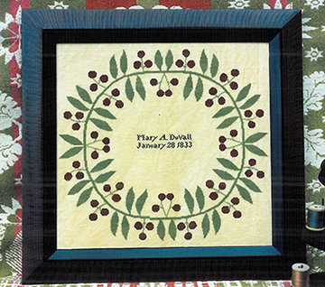 *Mary's Wreath by Carriage House Samplings