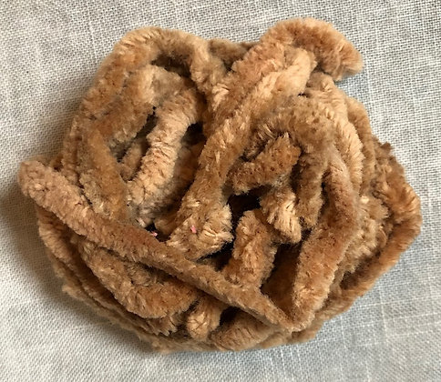 Bird Nest Hand-Dyed Chenille Trim 3-Yard Packet by Lady Dot Creates