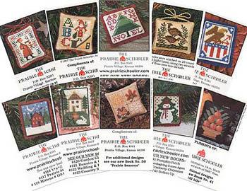 Mini Card Set B by The Prairie Schooler