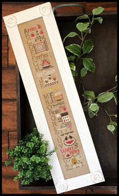 Summer ABC's by Little House Needleworks