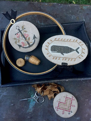 Nantucket Sewing Trio by Stacy Nash Primitives