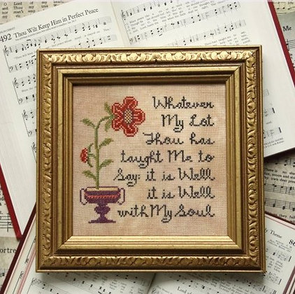 Sunday Stitches: It Is Well with My Soul by Heartstring Samplery