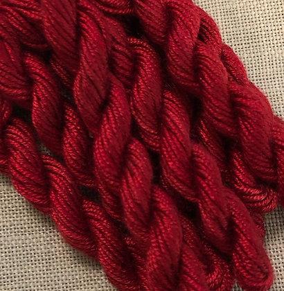 Gloriana Schoolhouse Red Florimell Hand-Dyed Silk 5-Yard Skein