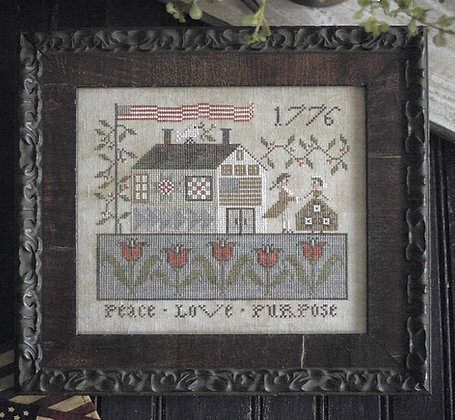 Peace, Love & Purpose by Plum Street Samplers