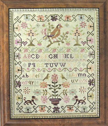 Pink Sparrow Sampler by With Thy Needle & Thread