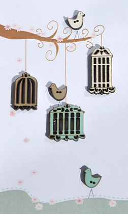 Birdcages by The Bee Company TB21C