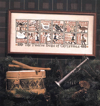 *The 12 Days of Christmas by The Prairie Schooler