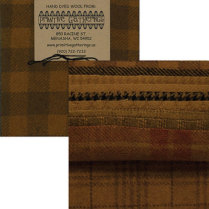 "MUSTARD Wool 5"" Charm Pack by Primitive Gatherings"