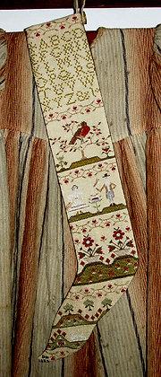 Sampler Stocking by Carriage House Samplings