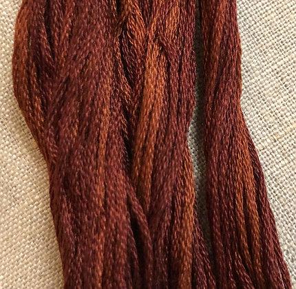 German Chocolate Classic Colorworks Cotton Threads 5-yard Skein