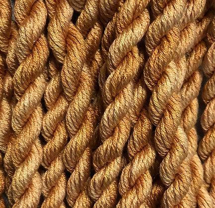 Golden Squash 6-yards, 12-stranded Silk Floss by Gloriana
