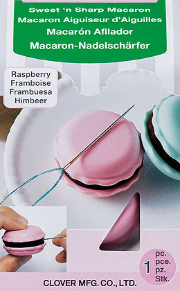 Sweet & Sharp RASPBERRY Macaron (SHARPENS NEEDLES!) by Clover