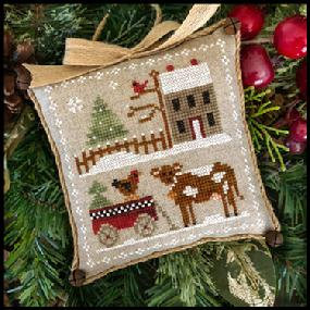 Farmhouse Christmas: Dairy Darlin' by Little House Needleworks