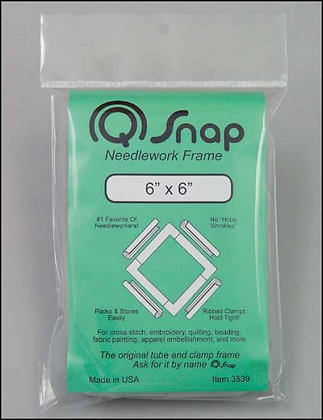 "6"" by 6"" Q-Snap Needlework Frame"